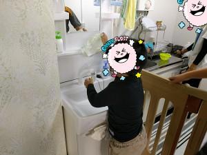 放課後デイ 手洗い3